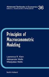 Principles of Macroeconometric Modeling