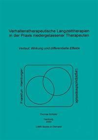 Verhaltenstherapeutische Langzeittherapien in Der Praxis Niedergelassener Therapeuten