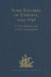 Some Records of Ethiopia, 1593-1646