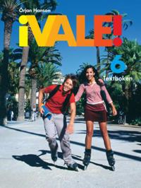 ¡Vale! 6 Textboken inkl. ljudfiler och elevwebb