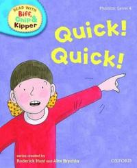 Oxford reading tree read with biff, chip, and kipper: phonics: level 4: qui