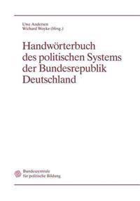 Handw rterbuch Des Politischen Systems Der Bundesrepublik Deutschland