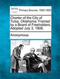 Charter of the City of Tulsa, Oklahoma