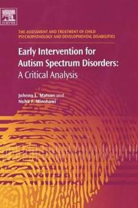 Early Intervention for Autism Spectrum Disorders