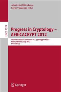Progress in Cryptology -- AFRICACRYPT 2012