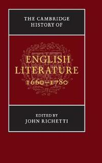 The Cambridge History Of  English Literature 1660-1780