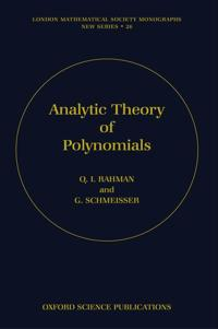 Analytic Theory of Polynomials
