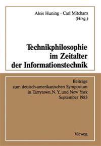 Technikphilosophie Im Zeitalter Der Informationstechnik