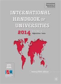 International Handbook of Universities 2014