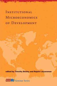 Institutional Microeconomics of Development