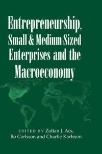 Entrepreneurship, Small and Medium-Sized Enterprises and the Macroeconomy