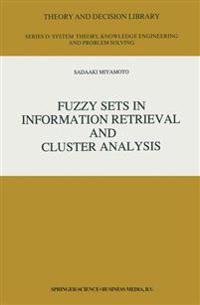 Fuzzy Sets in Information Retrieval and Cluster Analysis