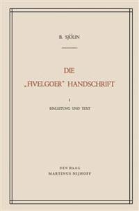 """Die """"Fivelgoer"""" Handschrift"""