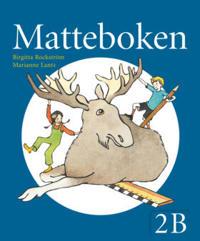 Matteboken Grundbok 2B ny upplaga
