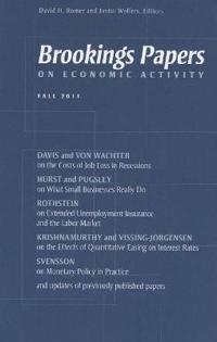 Brookings Papers on Economic Activity 2011