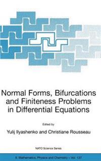 Normal Forms, Bifurcations and Finiteness Problems in Differential Equations
