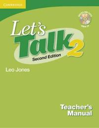 Let's Talk Level 2 Teacher's Manual 2 with Audio CD