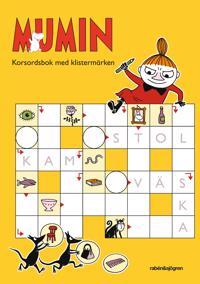 Mumin - Korsordsbok med klistermärken