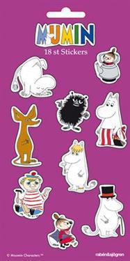 Mumin - Stickers : 18 stickers