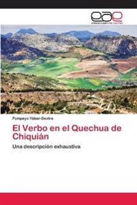El Verbo En El Quechua de Chiquian
