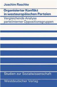 Organisierter Konflikt in Westeuropaischen Parteien