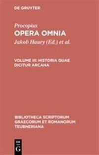 Procopius Opera Omnia