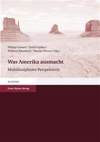 Was Amerika Ausmacht: Multidisziplinare Perspektiven