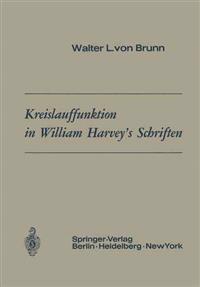 Kreislauffunktion in William Harvey S Schriften