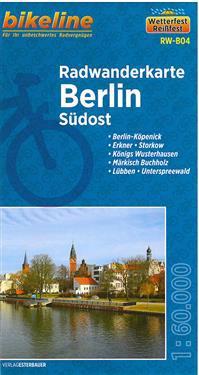 Bikeline Radwanderkarte Berlin Südost 1 : 60 000