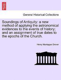Soundings of Antiquity