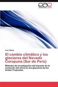 El Cambio Climatico y Los Glaciares del Nevado Coropuna (Sur de Peru)