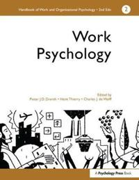 Handbook of Work and Organizational Psychology