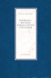 Formaali metodi kirjallisuustieteessä