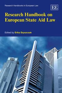 Research Handbook on European State Aid Law