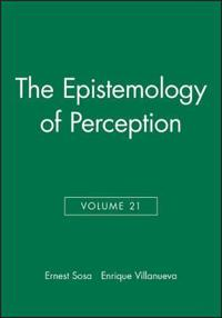 The Epistemology of Perception