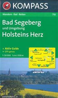 Bad Segeberg und Umgebung - Holsteins Herz 1 : 50 000