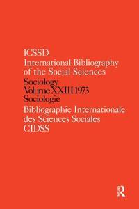 Sociology 1973