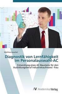 Diagnostik Von Lernfahigkeit Im Personalauswahl-AC