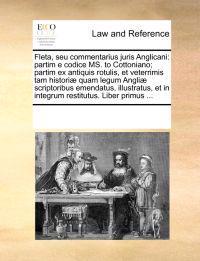 Fleta, Seu Commentarius Juris Anglicani