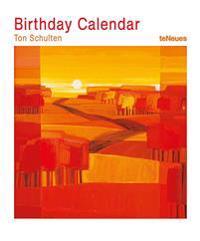 Ton Schulten Birthday Calendar