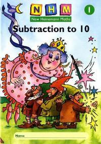 New Heinemann Maths Yr1, Subtraction to 10 Activity Book (8 Pack)