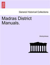 Madras District Manuals.