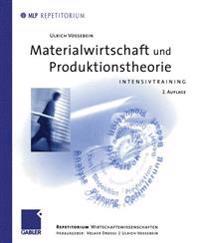 Materialwirtschaft Und Produktionstheorie
