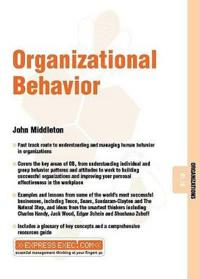 Organizational Behavior: Organizations 07.10