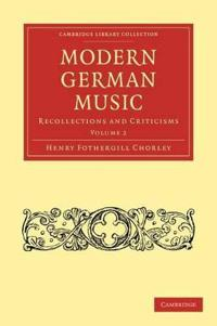 Modern German Music 2 Volume Paperback Set Modern German Music