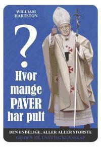 Hvor mange paver har pult?