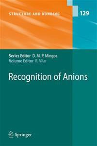 Recognition of Anions