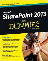 SharePoint 2013 For Dummies - Ken Withee - böcker (9781118510711)     Bokhandel