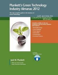 Plunkett's Green Technology Industry Almanac 2012