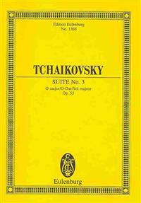 Suite No. 3 in G Major, Op. 55: For Orchestra